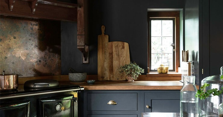 Why You Should Embrace The Dark Kitchen Trend Wallsauce No