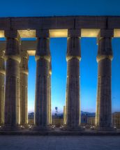 Luxor Temple Night wall mural thumbnail