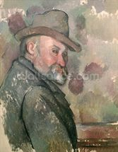 Self Portrait, 1890-94 (oil on canvas) wall mural thumbnail
