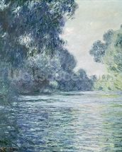 Branch of the Seine near Giverny, 1897 (oil on canvas) wallpaper mural thumbnail