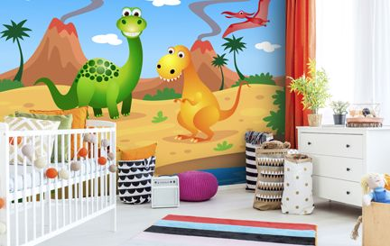 Childrens Wallpaper. Wall Mural Wallpaper