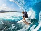 Surfing wall mural thumbnail