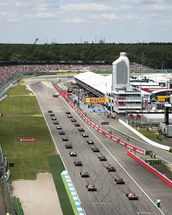 Grand Prix Start, Hockenheimring, Germany 2012 mural wallpaper thumbnail