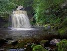 West Burton Waterfall wall mural thumbnail