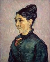 Portrait of Madame Jeanne Lafuye Trabuc, 1889 (oil on canvas) wallpaper mural thumbnail