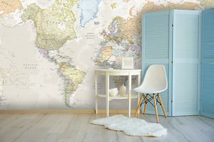 6 Wallpaper Murals That Will Boss Your Home Office