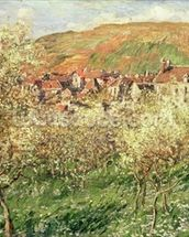 Apple Trees in Blossom, 1879 wall mural thumbnail