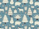All About Christmas wall mural thumbnail