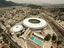 Aerial View of Maracana Football Stadium wall mural thumbnail
