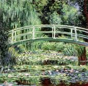 White Waterlilies, 1899 (oil on canvas) wall mural thumbnail