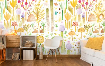 Gabriela Larios Wall Murals Wallpaper