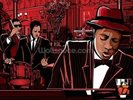 Jazz Piano wall mural thumbnail