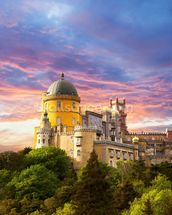 Sintra - Castle of the Moors wallpaper mural thumbnail