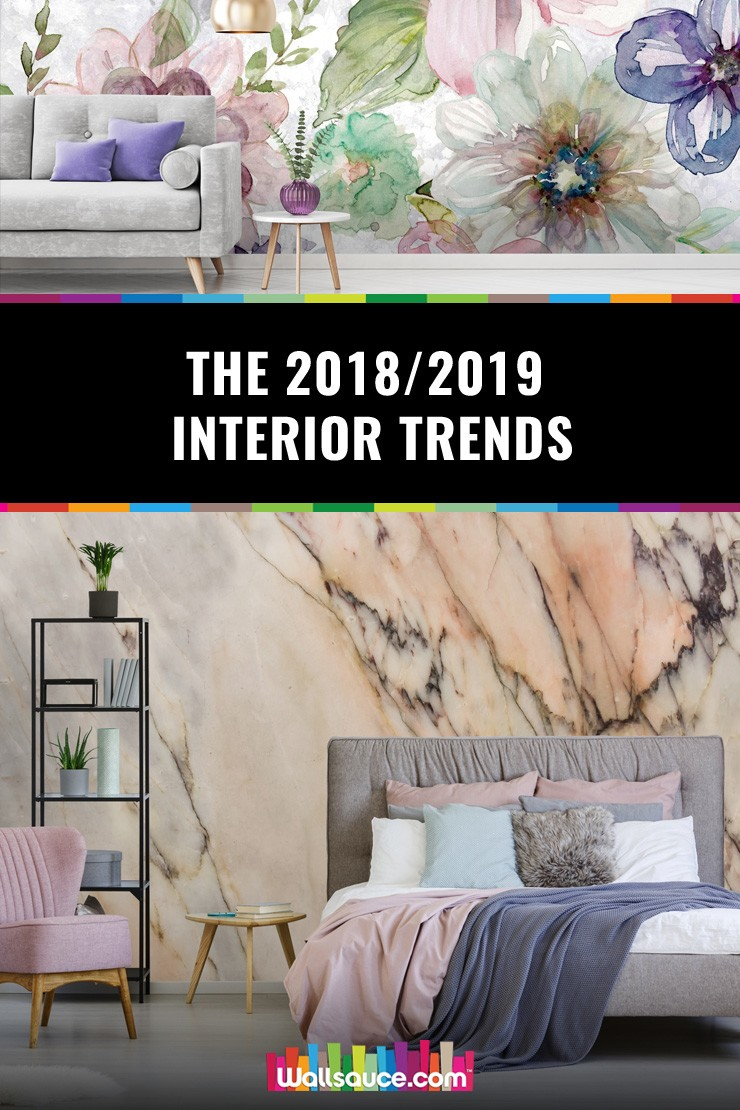 Time to update your decor? Here are the 2018/ 2019 interior trends that you need to know about