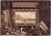 Frontispiece to Liber Studiorum, engraved by J. C. Easling (fl.1788-1815) 1812 (etching and mezzotint) wall mural thumbnail