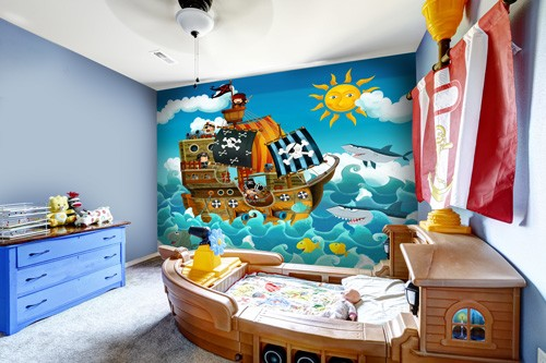 Pirates Wall Mural Part 12