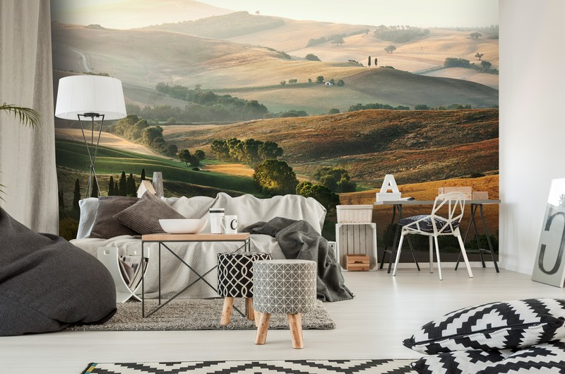 Italian Landscape wall mural from Wallsauce