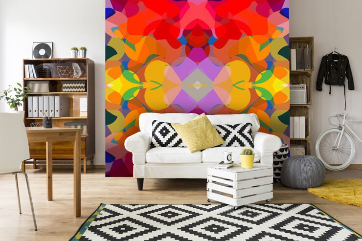 graphic_wallpaper_in_living_room