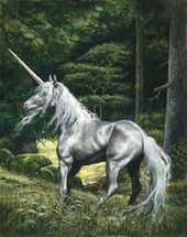 Unicorn wall mural thumbnail