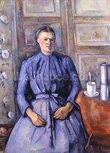 Woman with a Coffee Pot, c.1890-95 (oil on canvas) wallpaper mural thumbnail