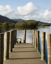 Lakeland Jetty View wall mural thumbnail
