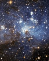 Star-Forming Region LH 95 in the Large Magellanic Cloud wallpaper mural thumbnail