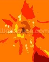 Sunshine Camouflage (colour photo) wallpaper mural thumbnail