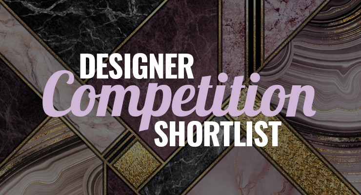 Designer wallpaper competition shortlist