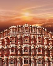 Palace of the Winds, Jaipur wall mural thumbnail