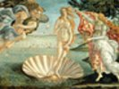 The Birth of Venus, c.1485 (tempera on canvas) wall mural thumbnail