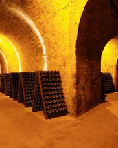 Wine Cellar Tunnels wallpaper mural thumbnail
