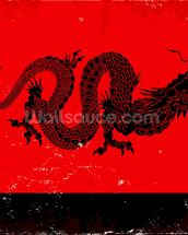 Black Dragon wallpaper mural thumbnail