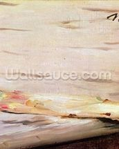 Asparagus, 1880 (oil on canvas) wallpaper mural thumbnail