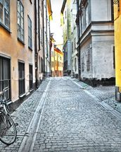Old Town Stockholm wallpaper mural thumbnail