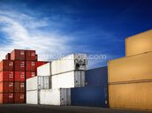 Shipping Containers wallpaper mural thumbnail