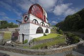 Laxey waterwheel wall mural thumbnail