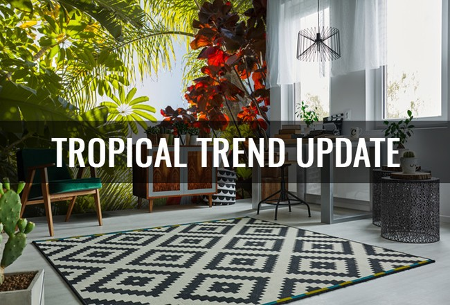 Tropical Wallpaper: Trend Update
