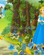 The Princess mural wallpaper thumbnail