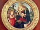 Virgin and Child with John the Baptist wall mural thumbnail