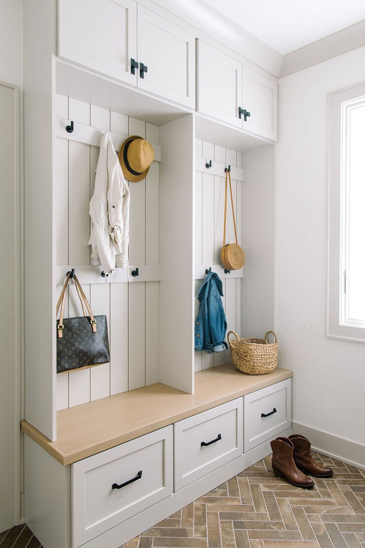mudroom ideas for white mudroom bench and storage