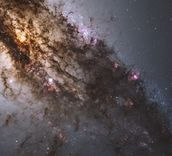 Active Galaxy Centaurus A mural wallpaper thumbnail