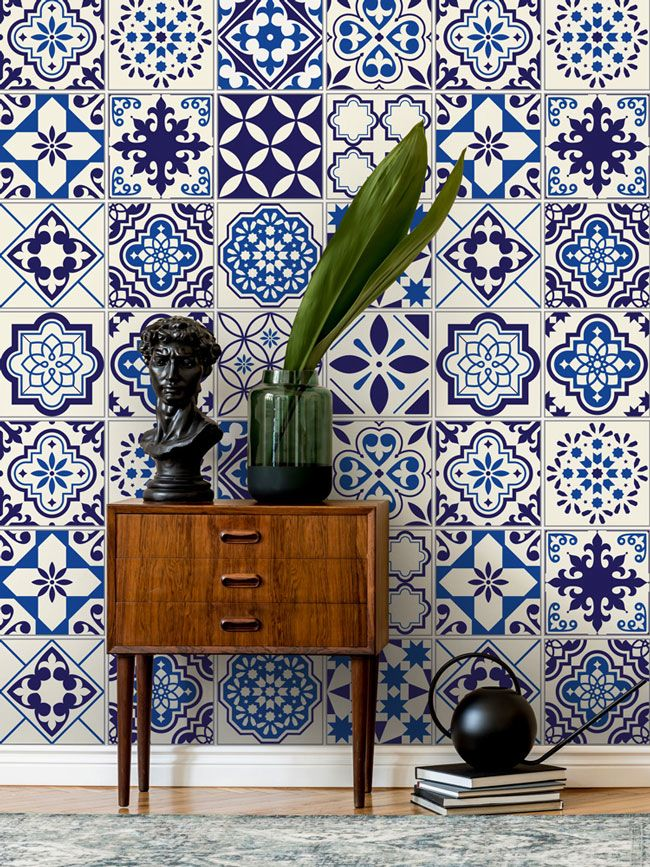 Navy Wallpaper is the Biggest Colour Trend in Interior Design
