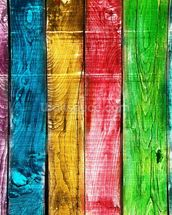 Painted Wooden Planks wallpaper mural thumbnail