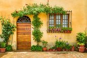 Beautiful Village House, Italy mural wallpaper thumbnail