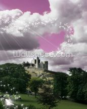 Fairytale Castle wall mural thumbnail