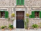 Village House with Green Shutters wall mural thumbnail