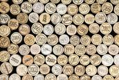 Wine Corks Effect wallpaper mural thumbnail
