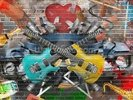 Graffiti - Guitar wall mural thumbnail