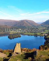 Grasmere from Loughrigg Fell wallpaper mural thumbnail