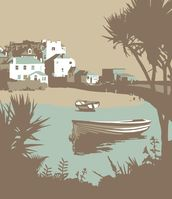 St Ives 1 wallpaper mural thumbnail